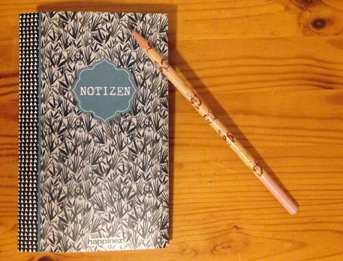 Tagebuch-Heft