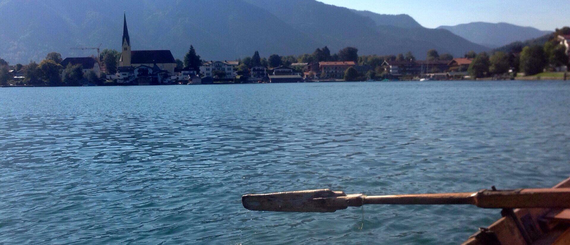 Ruderboot Tegernsee