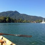 Einmann-Ruderboot Tegernsee
