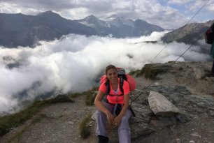 Ulrike am Berg